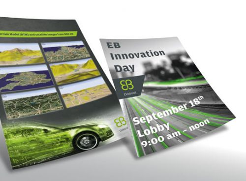 Plakate zum Innovation Day