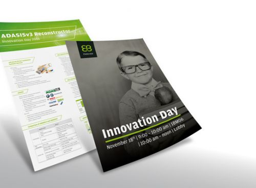 Plakate für den Innovation Day November 2016