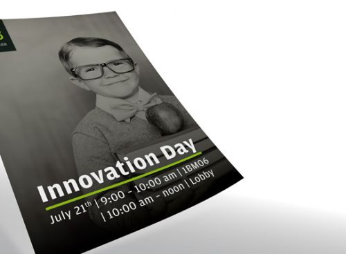 Plakate zum Innovation Day 2017