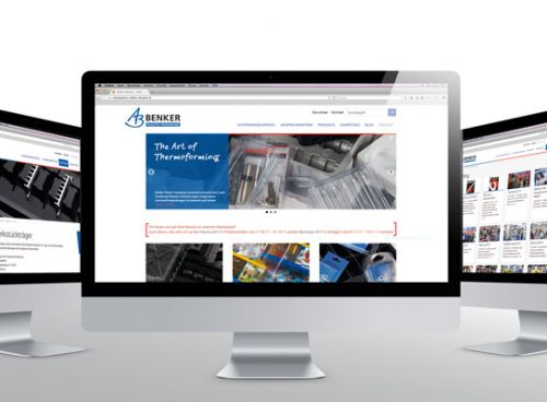 The Art of Thermoforming – Relaunch der Benker Website