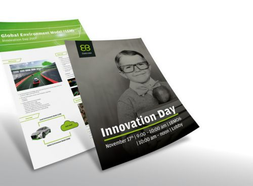 Plakate zum Innovation Day November 2017