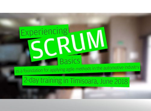 "Mood-Film zum Trainings-Event ""Experiencing SCRUM basics"""